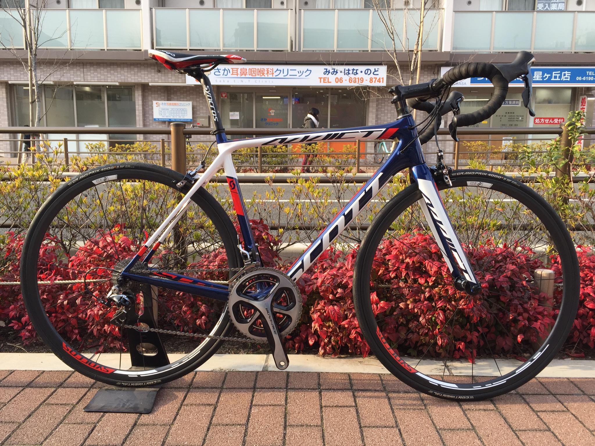 2015 スコット アディクト チームイシュー デュラエース完成車 1台限り大特価!