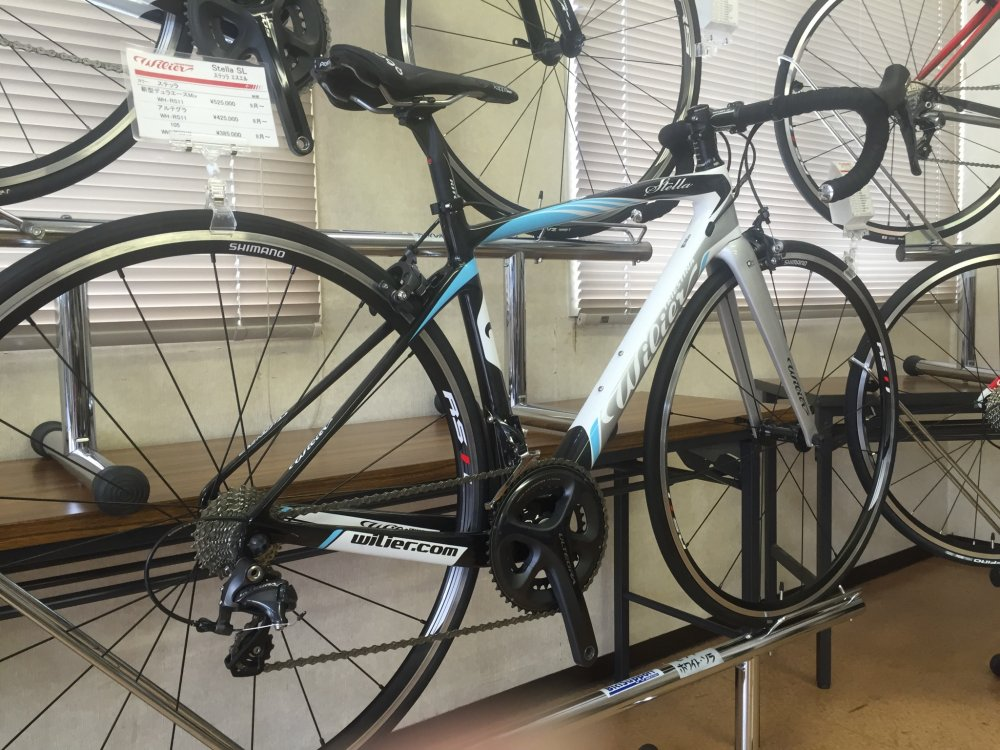 WILIER(ウィリエール) Stella SL 105/WH-RS010 完成車[2017]