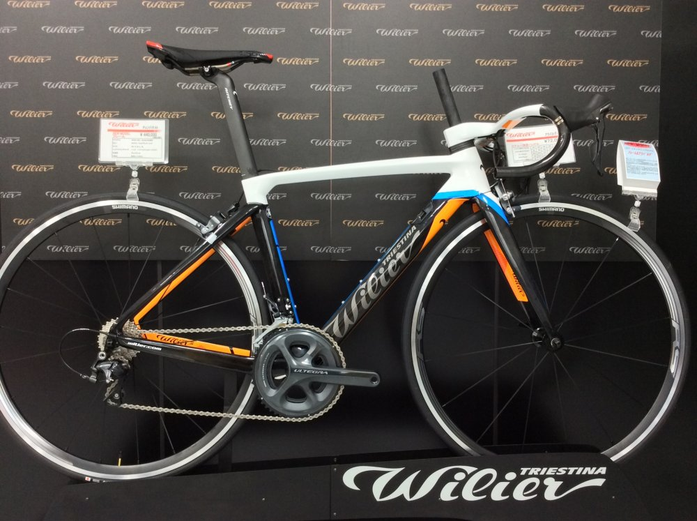 WILIER(ウィリエール) Cento10 Air デュラエース(11S)/ WH-9100-C40-CL完成車[2017]