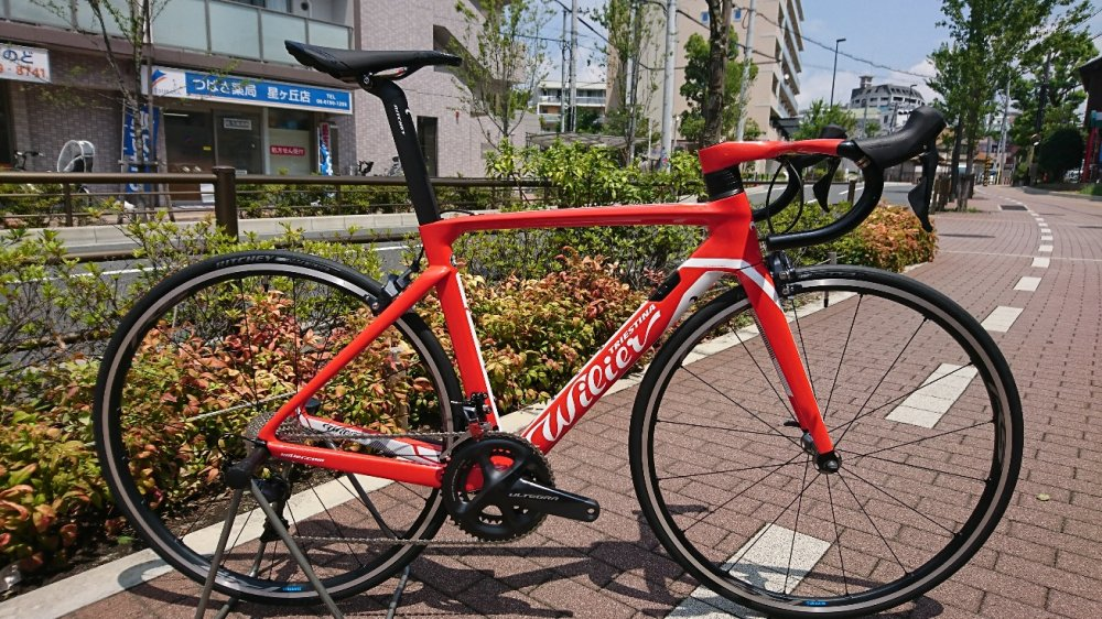 WILIER(ウィリエール) Cento10 Air アルテグラ/WH-RS500完成車[2018] 初回限定展示会特別仕様!