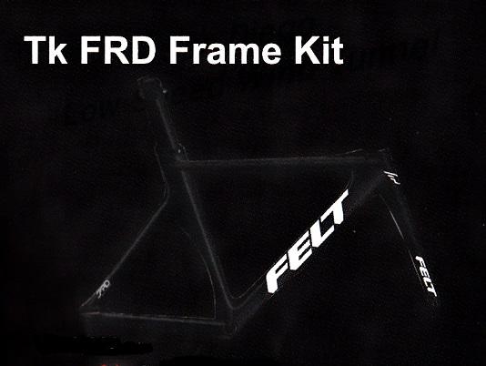 FELT(フェルト)Tk FRD フレームセット[2018]