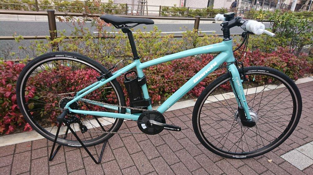 【ボーナスセール】BIANCHI(ビアンキ) CAMALEONTE-E e-bike 電動自転車 完成車[2018]