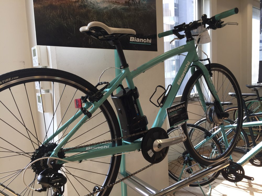 BIANCHI(ビアンキ) CAMALEONTE-E e-bike 電動自転車 完成車[2018]