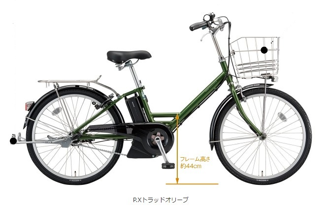 BRIDGESTONE(ブリジストン)ASSISTAUNI - アシスタユニプレミア 24インチ - 電動アシスト自転車 [2018]