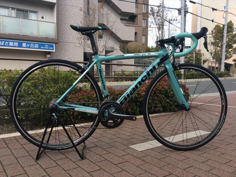【ワケあり】BIANCHI(ビアンキ) SEMPRE PRO ティアグラ完成車[2018] サイズ500 1台限り