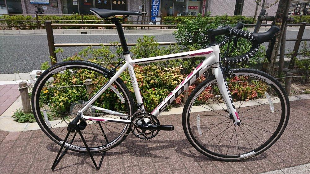ワケアリ特価放出 SCOTT(スコット) SPEEDSTER 25 Japan Limited 105完成車 [2017]