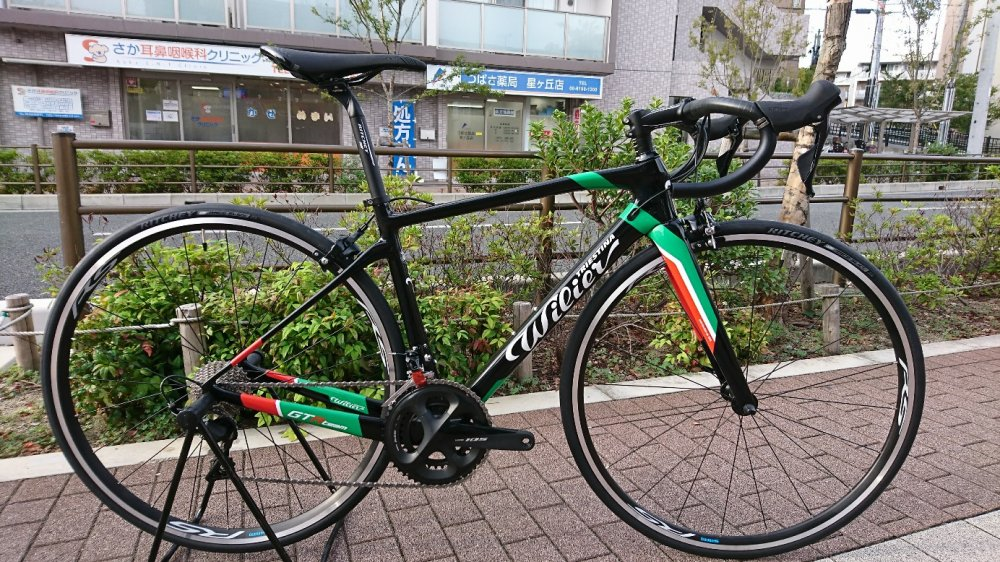 WILIER(ウィリエール) Gran Turismo R Team 105 R7000(11S)  WH-RS100完成車[2019] 1台限りのトリコローレ
