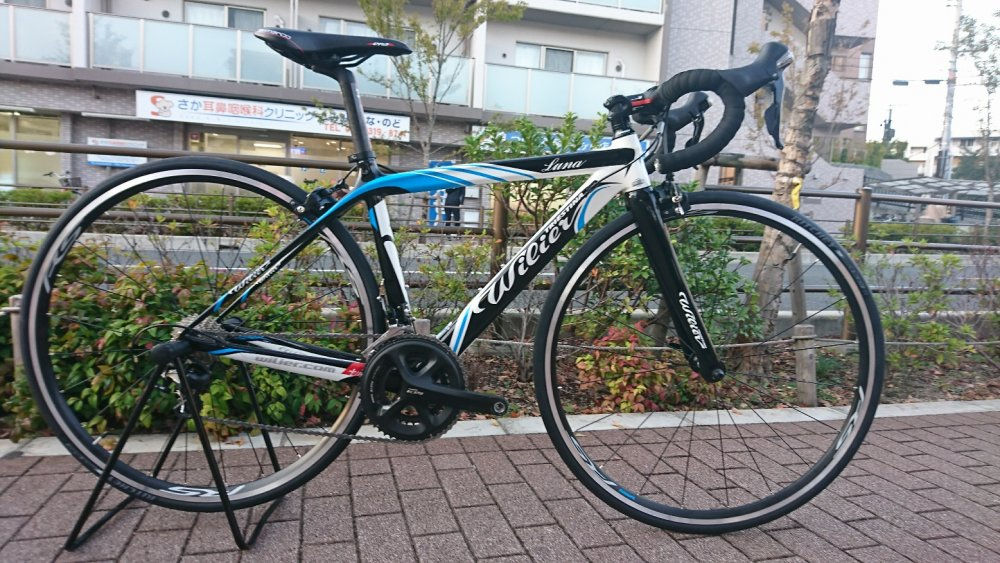 WILIER(ウィリエール) Luna Carbon 105/WH-R010完成車[2018] 1台限りの試乗車卸し