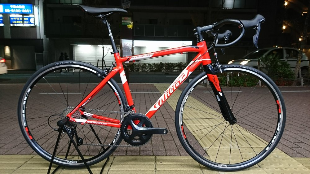 WILIER(ウィリエール) Montegrappa TEAM SORA/WH-RS100完成車[2017]