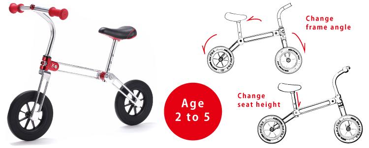 【X-mini】 BalanceBike Kickbike KidsBike Foldingbike