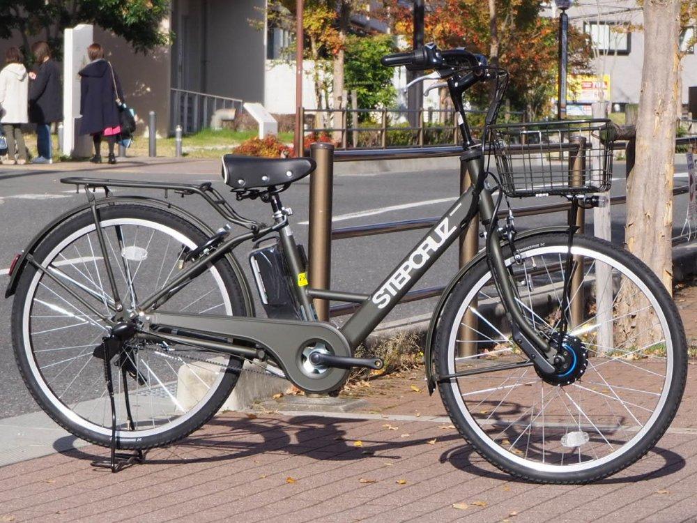BRIDGESTONE(ブリジストン)STEPCRUZ  - ステップクルーズ e - 電動アシスト自転車 [2019] 在庫限りの特価放出!
