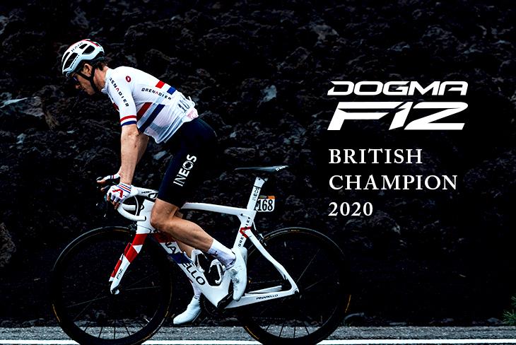 PINARELLO(ピナレロ) DOGMA F12 XLIGHT DISK BRITISH CHAMPION 2020 フレームセット[2021]