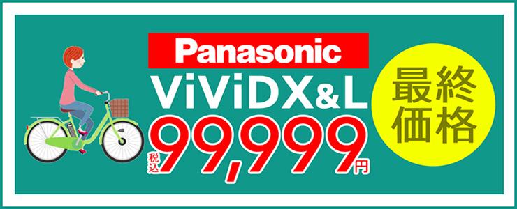 Panasonic(パナソニック)ビビ・DX [2021]店頭・倉庫在庫特価